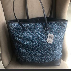 New Coach Floral Ranch Tote